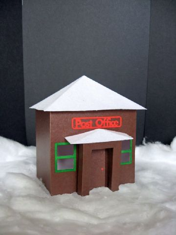 Christmas Post Office Template